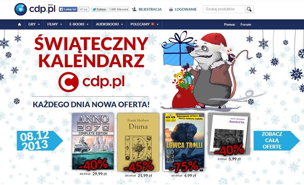 Ciąg dalszy promocji świątecznych w CDP.PL