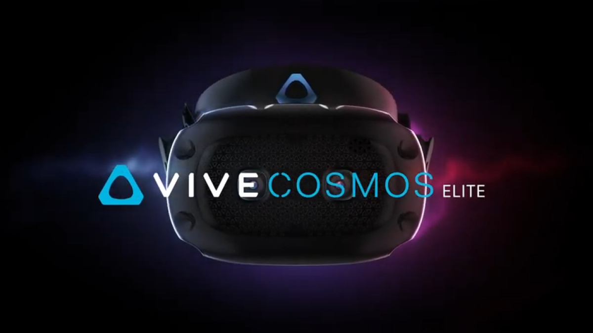 Vive Cosmos Elite na grafice producenta