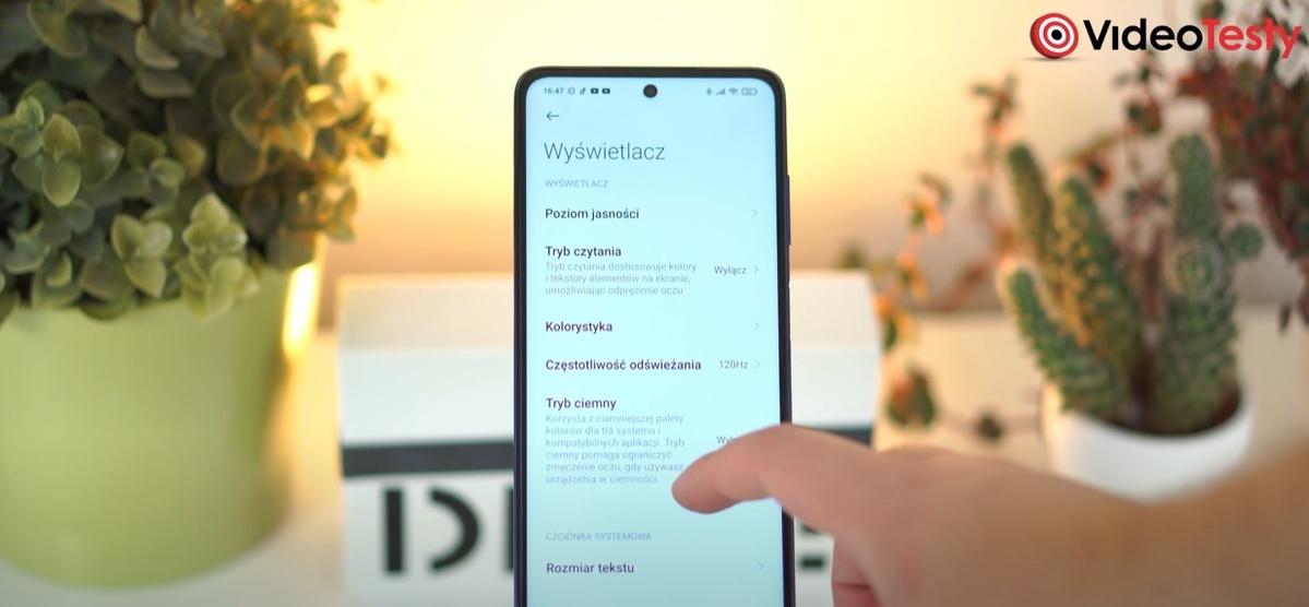 Opcje wyświetlacza POCO X3 NFC pozwalają na głęboką personalizację