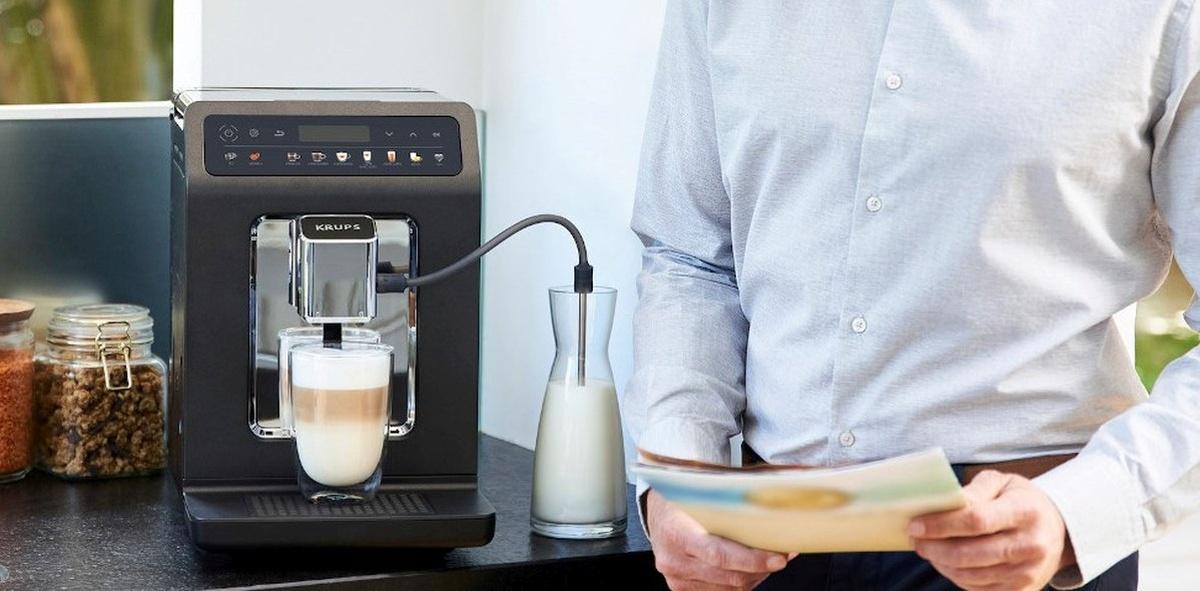 KRUPS EA895E Evidence One to ekspres zdolny do wielu kaw