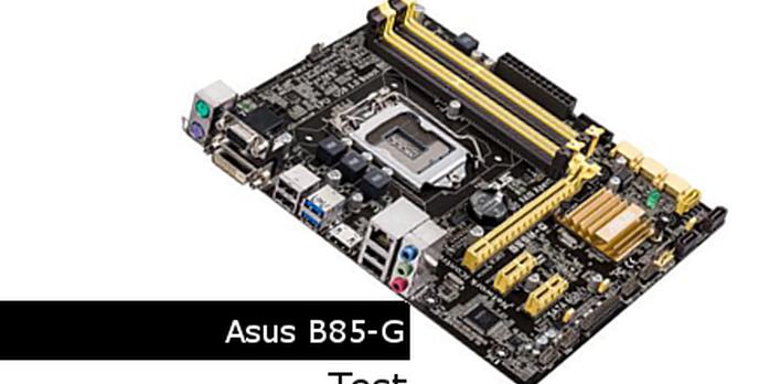 ASUS B85M-G - Test Płyty Głównej
