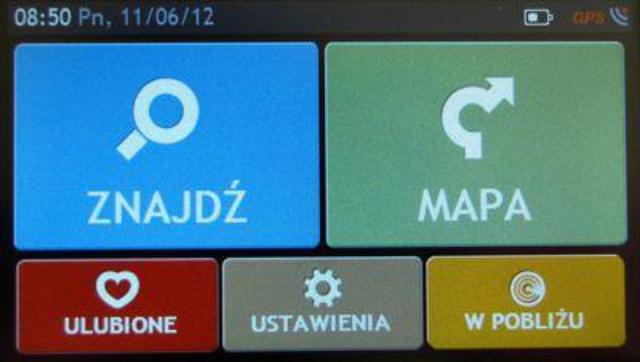 menu główne