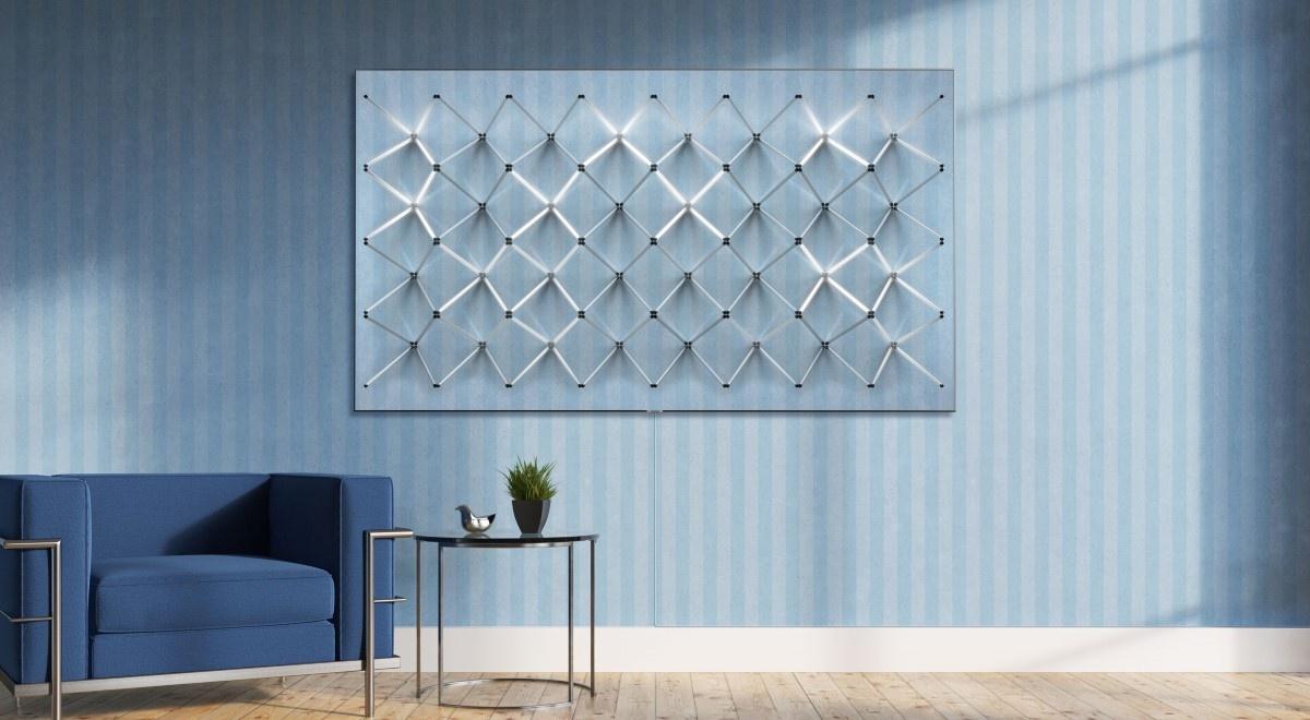 Tryb ambient w telewizorze na ścianie