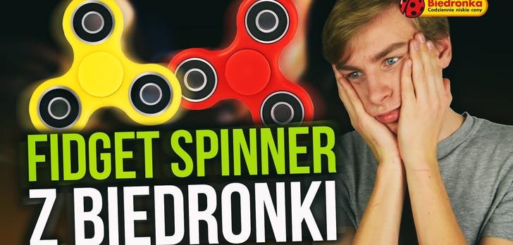 Fidget Spinner z Biedronki za 7,99? TEST!