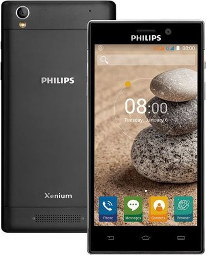 "Philips Xenium V787 16GB 5"" czarny LTE"
