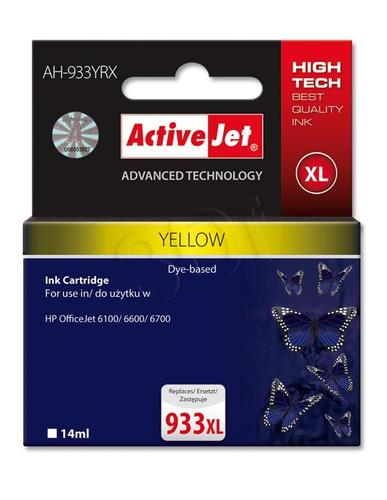 ActiveJet AH-933YRX tusz żółty do drukarki HP (zamiennik HP 933XL CN056AE) Premium