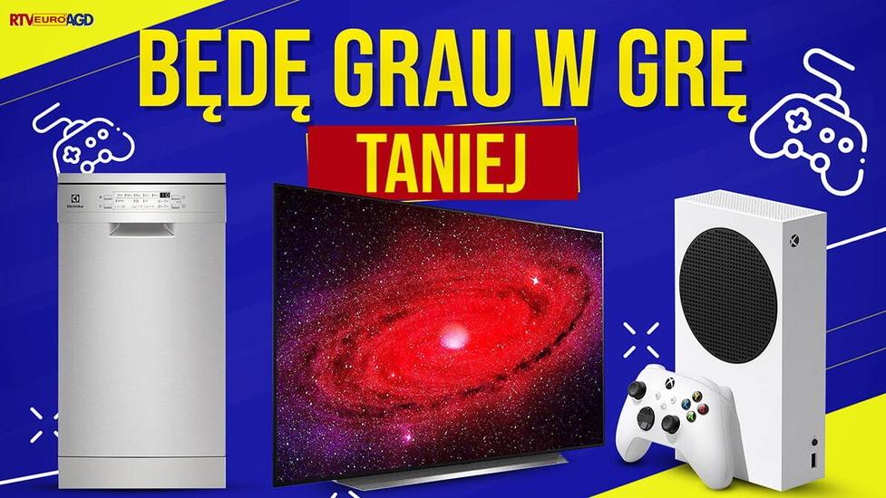 Telewizor, konsola lub Roomba taniej! Promocje na elektronikę w weekend