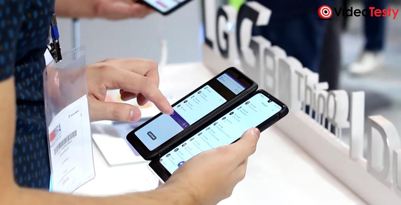 Na LG G8X ThinQ skorzystacie z dwóch ekranów