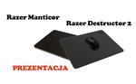 Manticor i Destructor 2 - podkładki firmy Razer [PREZENTACJA]