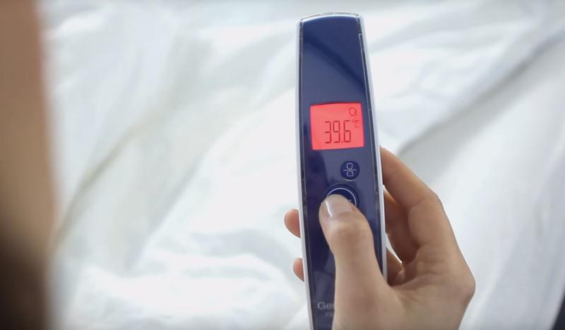 Termometry czasem mają alarm gorączkowy