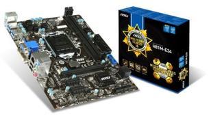 MSI H81M-E34, H81, DualDDR3-1600, HDMI, DVI, SATA3, mATX (H81M-E34)