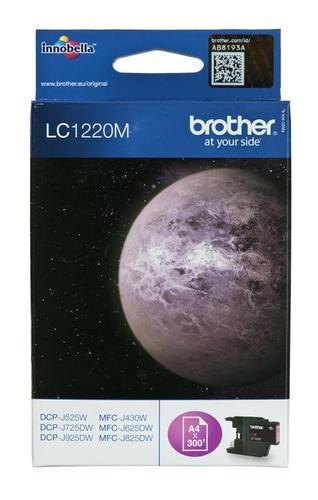 BROTHER Tusz Czerwony LC1220M=LC-1220M, 300 str.