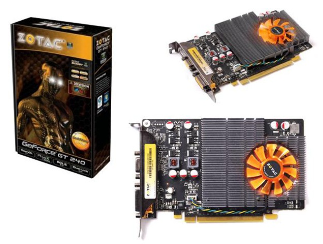 Zotac GeForce GT 240 Synergy