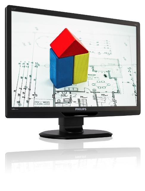 Więcej wygody z nowym monitorem PHILIPS 221S3UCB zasilanym przez USB