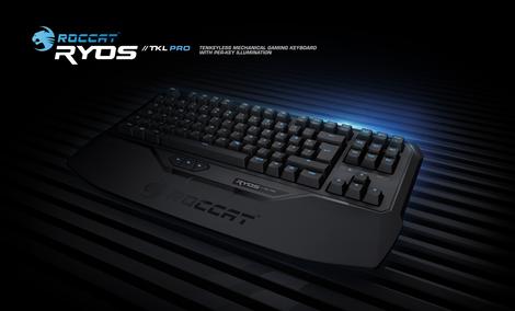 Roccat Ryos TKL Pro - turniejowa klawiatura z zaawansowanym oprogramowaniem