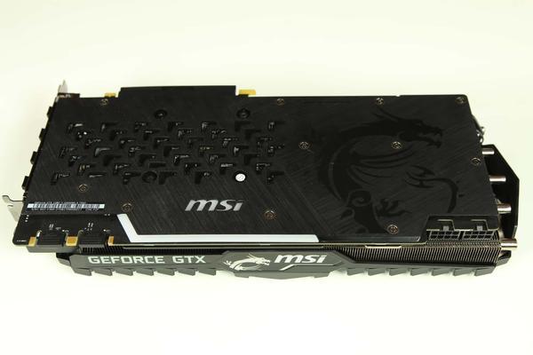 wygląd MSI GTX 1080 Ti Gaming X Trio