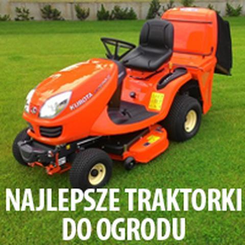 najlepsze traktorki ogrodowe