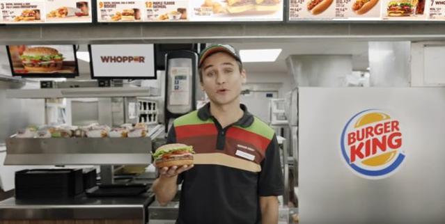 Reklama BurgerKing