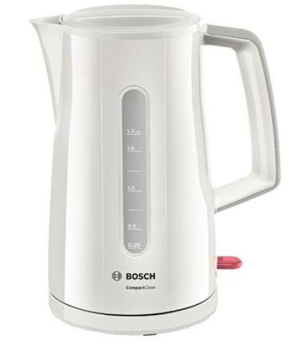 Bosch Czajnik 1,7l biały TWK 3A011