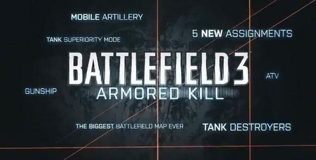 Armored Kill - nowy trailer chwilę przed premierą nowego DLC do gry Battlefield 3