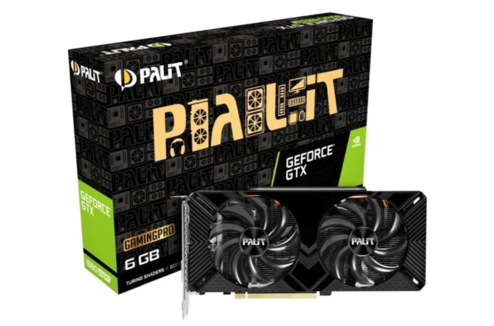 karta graficzna Palit GeForce GTX 1660 SUPER GP OC 6GB