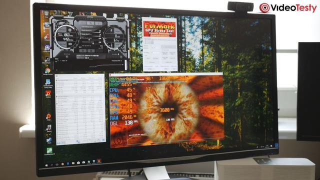 Stress Test OC w komputerze z PC Challenge