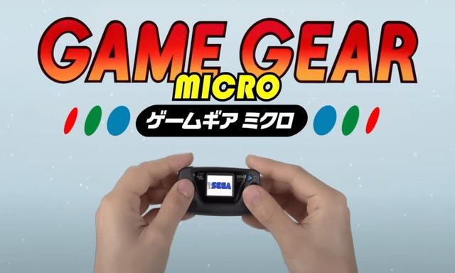 Game Gear Micro – Nowa retro konsola od Segi
