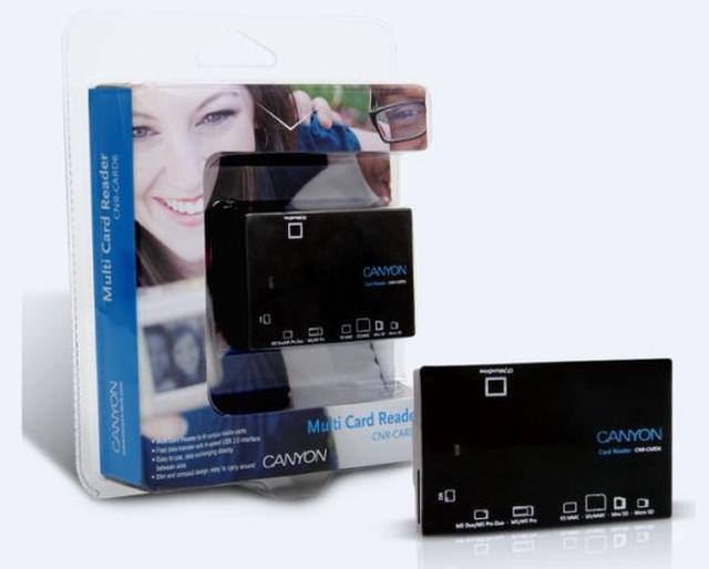 Czytniki kart USB Canyon CNR-CARD - magazynowanie danych nigdy nie było takie łatwe