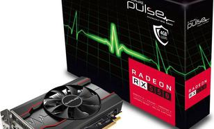 Sapphire PULSE RADEON RX 550, 4GB GDDR5 (128 Bit) HDMI, DVI-D, DP,