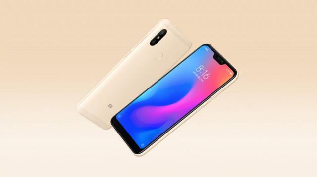 Xiaomi Redmi 6 Pro złoty