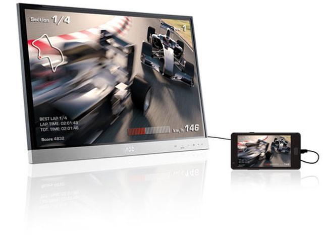 AOC wprowadza na rynek 27-calowy monitor myPlay z funkcją MHL