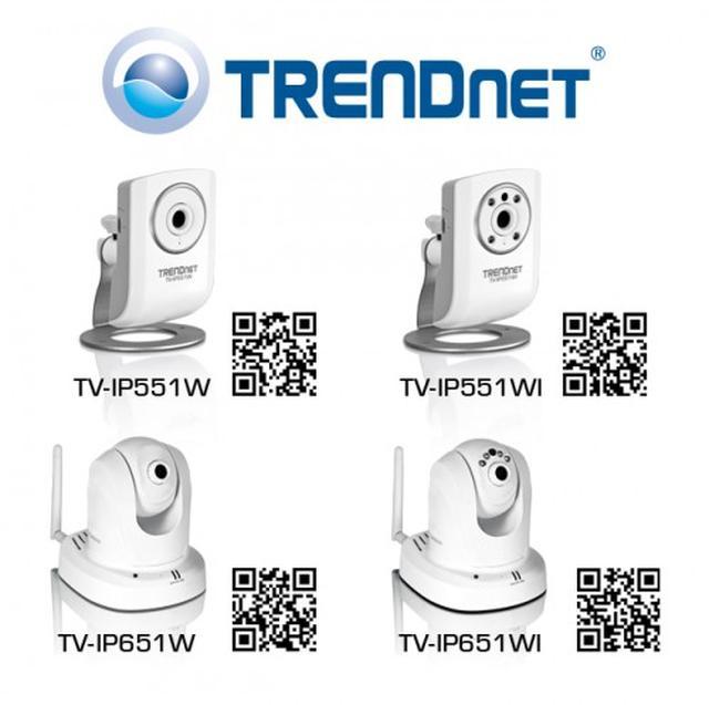 TRENDnet wprowadza na rynek cztery nowe kamery IP