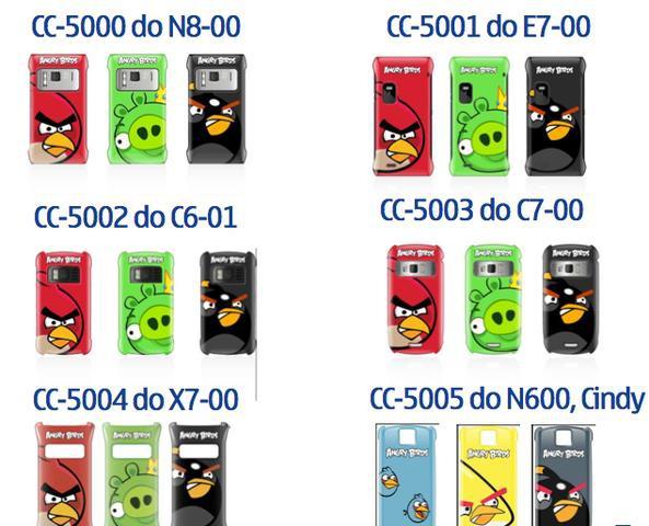 Etui - Angry Birds