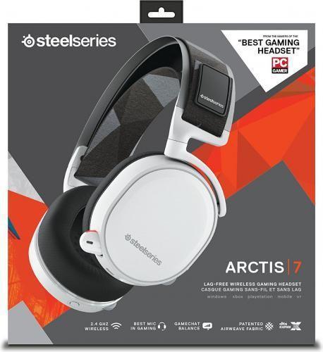 SteelSeries Arctis 7 Białe (61464)