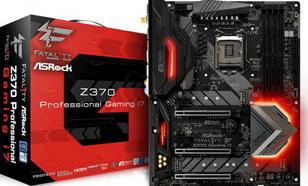 ASRock Z370 PROF GAMING I7 Z370 4DDR4 6SATA3 ATX