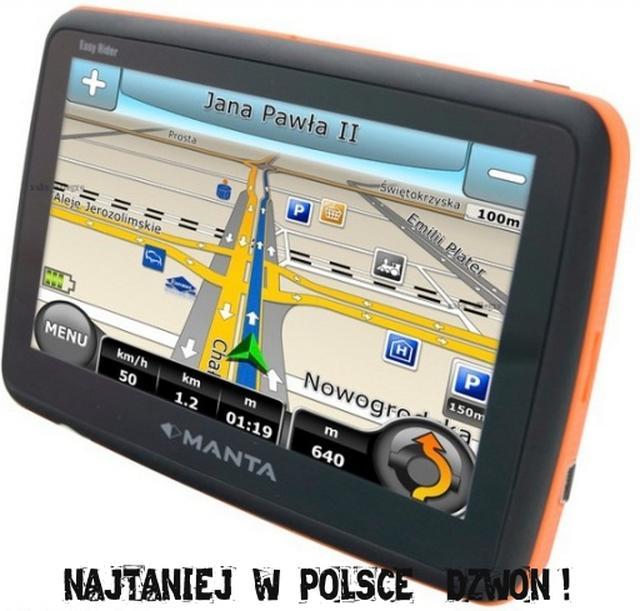 Prezentacja nawigacji Manta GPS 510