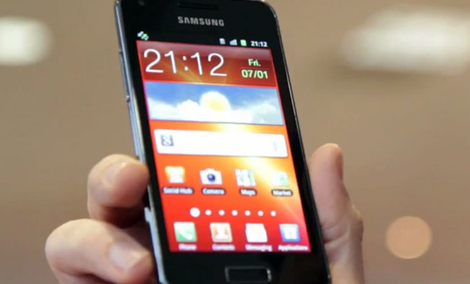 Samsung Galaxy S Advance [TEST]