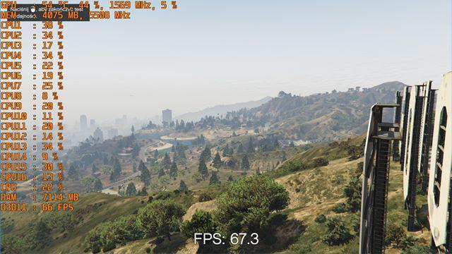 GTA V - Metodologia Sprawdzania FPS Videotestów