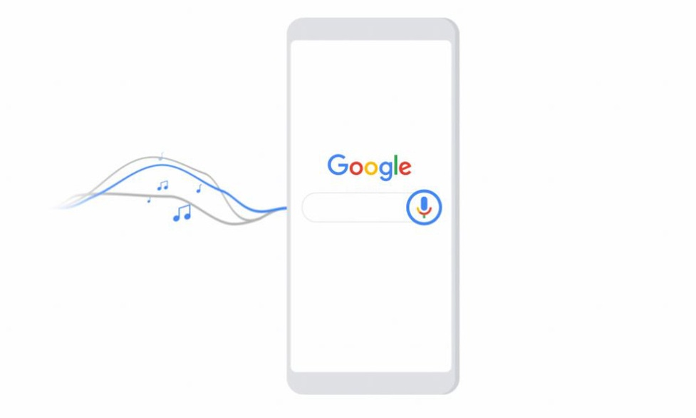 Nucąc do mikrofonu, wyszukamy piosenki w Google