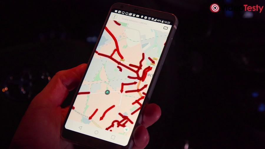 TOMTOM Go Basic - aplikacja mobilna ruch drogowy