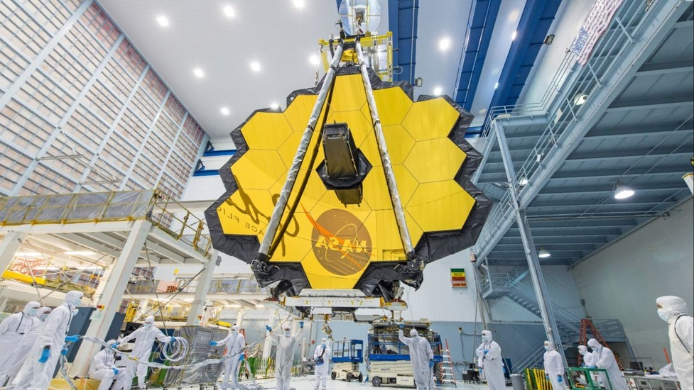 Prace nad kosmicznym teleskopem Jamesa Webba zawieszone