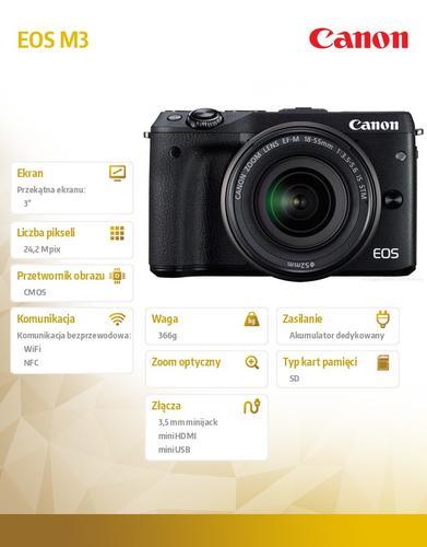 Canon EOS M3 M18-55 9694B064AA