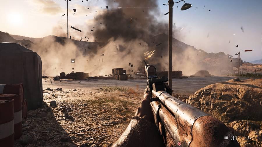 Battlefield V - Pełna demolka