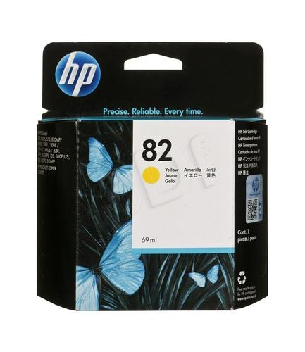 HP Tusz Żółty HP82Y=C4913A, 69 ml