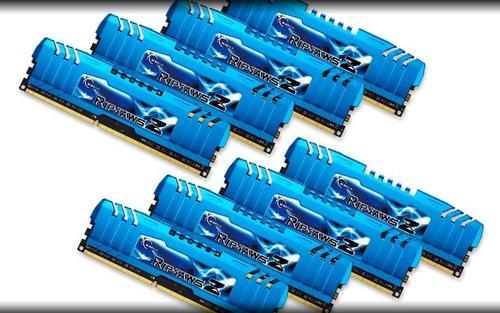 G.SKILL DDR3 64GB (8x8GB) RipjawsZ 2133MHz CL10 XMP