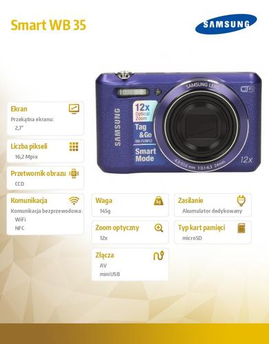 Samsung Smart WB 35 violet
