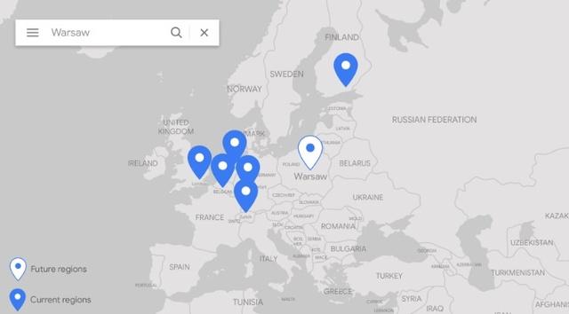 Google rozszerzy swoją obecność o centrum przetwarzania danych w Warszawie