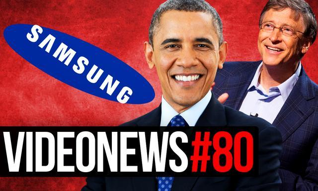 Videonews #80 - Obama naśmiewa się z Samsunga, Bill Gates Wiceprezydentem Stanów?