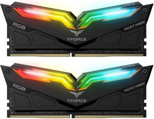 Team Group Night Hawk RGB DDR4, 2x8GB, 3600MHz, CL18 (TF1D416G3600HC18EDC01)