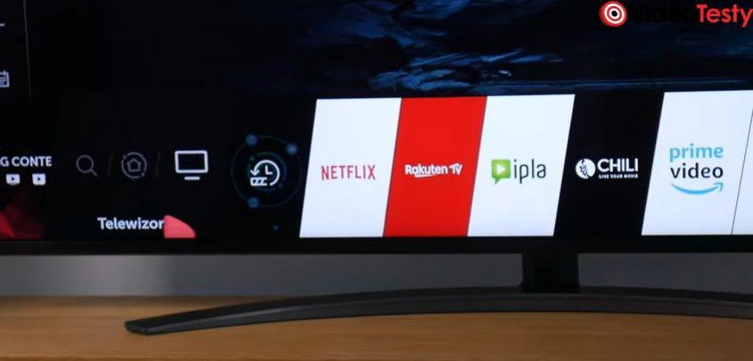 LG 55SM8600 i widżety smart tv